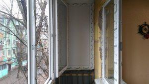 Застекление балконов в Кривом Роге под ключ