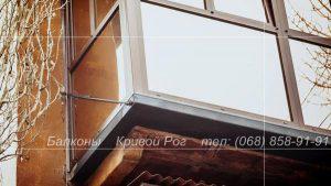 балконы под ключ кривой рог